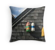 Hanging Buoys  Throw Pillow