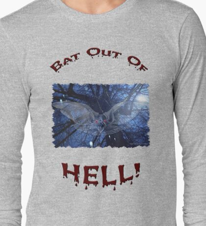 Bat Out Of Hell Long Sleeve T-Shirt