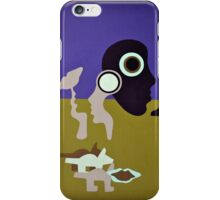 Couple Out Walking Their Dog on a Park in South Wales. iPhone Case/Skin