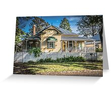 Australian Homes - Queenslander Greeting Card