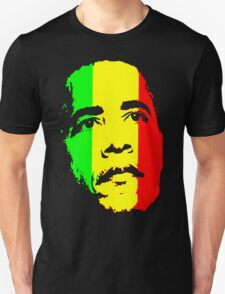 Barack Obama Green Gold and Red t shirt Unisex T-Shirt