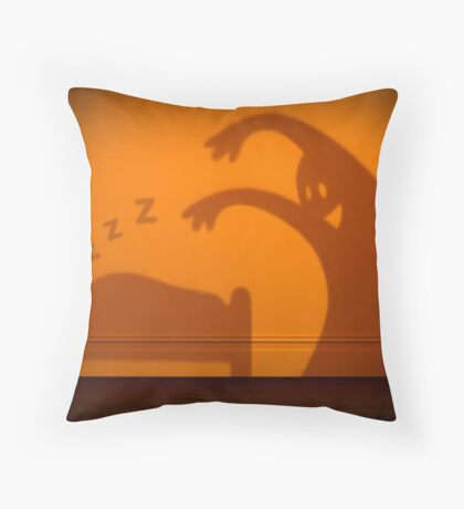 Things that go bump in the night Throw Pillow