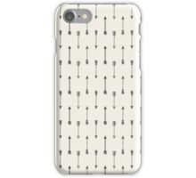 Cream and Black Tribal Arrow iPhone Case/Skin
