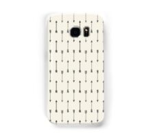 Cream and Black Tribal Arrow Samsung Galaxy Case/Skin