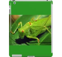 Locust macro shot iPad Case/Skin