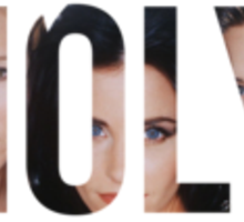 The Holy Trinity; Women of Friends Sticker