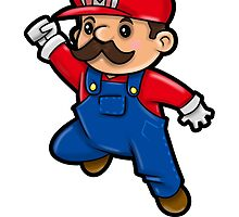 It's a me... Mario! by WarpZoneGraphic