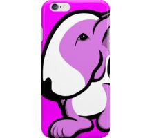 English Bull Terrier Stroll Lilac iPhone Case/Skin