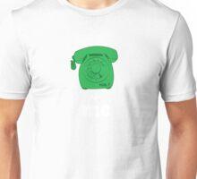 phone me green Unisex T-Shirt