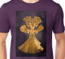 Columbia. Bogota. Gold Museum. Figurine. Unisex T-Shirt
