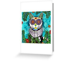 Fern Cat Greeting Card