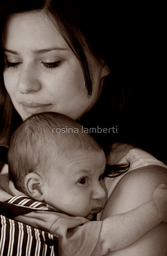 my mom by Rosina  Lamberti