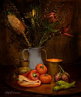 Old Masters Series (Print 8) by Alf Caruana