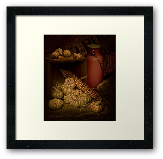 Old Masters Series (Print 9) by Alf Caruana