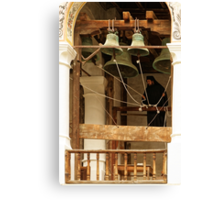 """For Whom the Bell Tolls"" at Rila Monastery, Bulgaria Canvas Print"