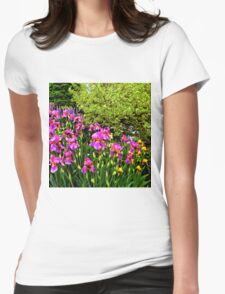 Border of Beauty Womens Fitted T-Shirt