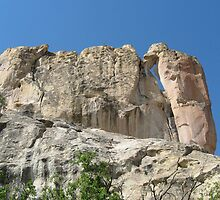 Magnifiscent El Morro, 60 miles south of Grants, NM by BHarrisonArts
