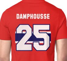 Vincent Damphousse #25 - red jersey Unisex T-Shirt