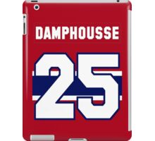 Vincent Damphousse #25 - red jersey iPad Case/Skin