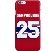 Vincent Damphousse #25 - red jersey iPhone Case/Skin