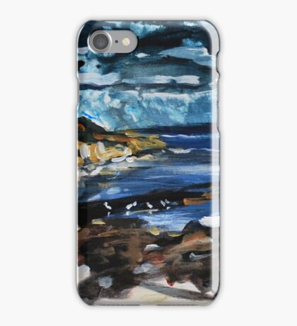 Waiting Out the Storm - Gleeson's Landing iPhone Case/Skin