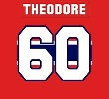 Jose Theodore #60 - red jersey Unisex T-Shirt