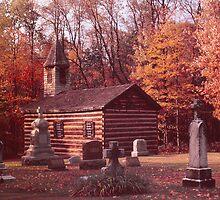St. Stanislaus - Old Log Church by Steven Godfrey
