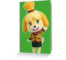 Nendoroid Isabelle (Winter) Greeting Card