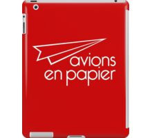 Paper Planes Extras: Red iPad Case/Skin
