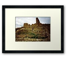 Anasazi Collection 7 Framed Print