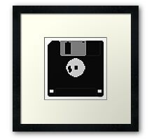 Floppy Disk Framed Print