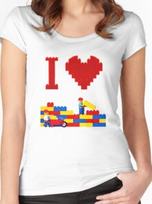 Build it Higher Women's Fitted Scoop T-Shirt
