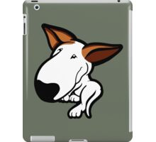 Ginger Ears English Bull Terrier Puppy iPad Case/Skin