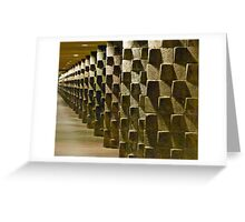 Fortified Wall Art Greeting Card