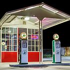 Late Night Gas Station by James Eddy
