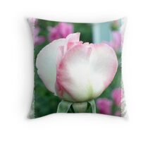 Sheer Bliss rosebud Throw Pillow