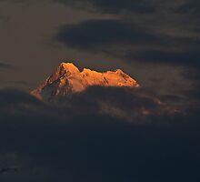 Mighty Kanchenjunga by Vinay Rathore