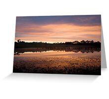Mount Martha Sunrise Greeting Card