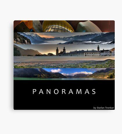 Panoramas Canvas Print