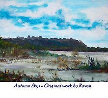 Autumn skys by Raven5