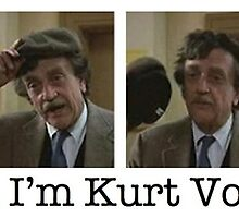 """Hello!... I'm Kurt Vonnegut."" by ProfHarshman"