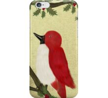 Red Bird iPhone Case/Skin