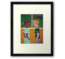 Innocence Is Bliss (Happy 90th Bday Mr Nelson Mandela!) Framed Print