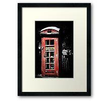 What no Daleks?? Framed Print
