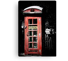 What no Daleks?? Canvas Print