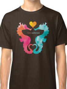 Love Seahorses - Heart Sun Classic T-Shirt