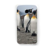 King Penguins on Parade Samsung Galaxy Case/Skin