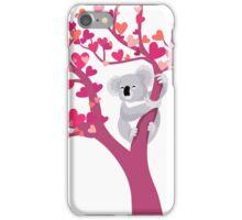 Love Koala in Tree iPhone Case/Skin