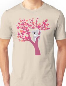 Love Koala in Tree Unisex T-Shirt