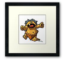 Baby Monster Framed Print
